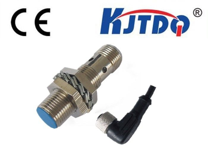 Standard Size Connection M12 Proximity Sensor Switch Metal Material Flush Mounting